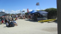 Chichester Music Academy live at West Wittering Beach